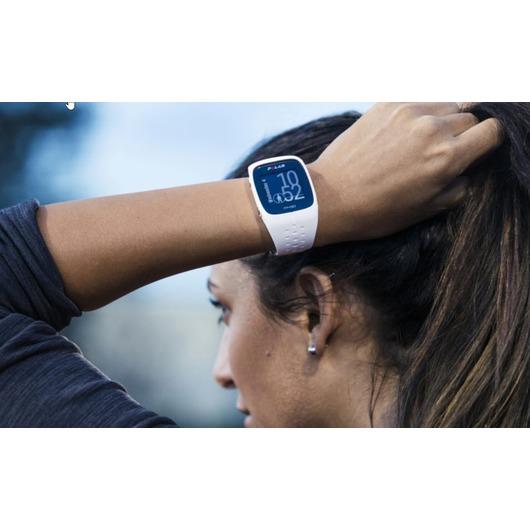 Horloge Polar M430 GPS sporthorloge Wit