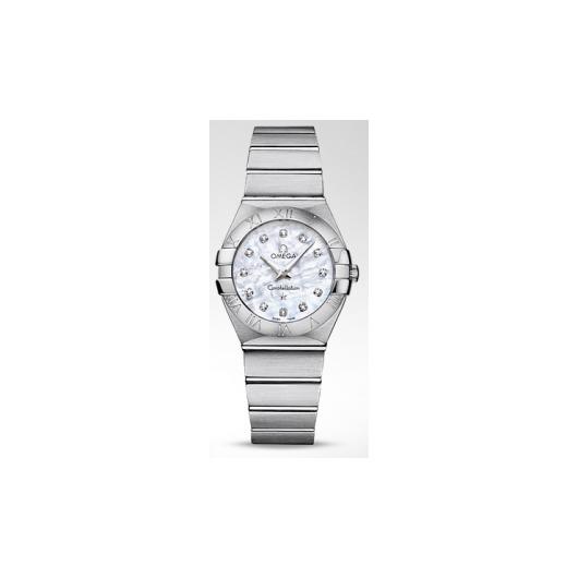Horloge Omega Constellation Quartz 123.10.27.60.55.001 27mm