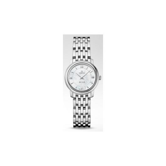 Horloge Omega De Ville Prestige Quartz 424.10.24.60.05.001 24.40mm