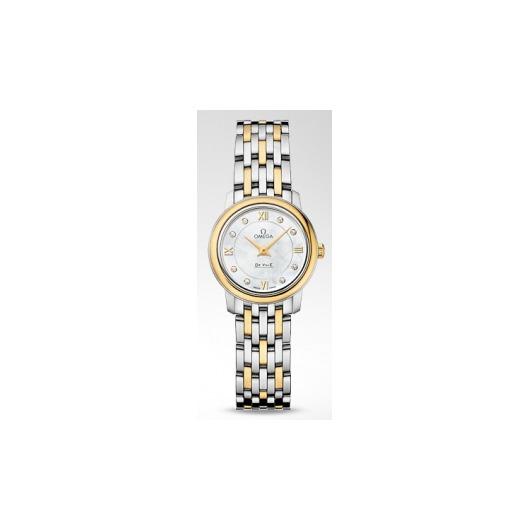 Horloge Omega De Ville Prestige Quartz 424.20.24.60.55.001 24.40mm