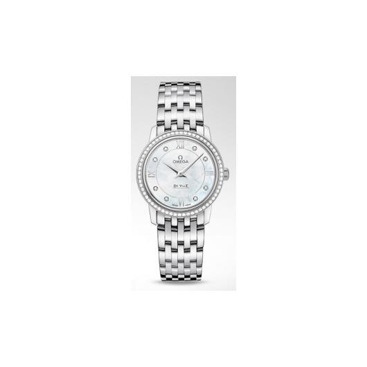 Horloge Omega De Ville Prestige Quartz 424.15.27.60.55.001 27.40mm