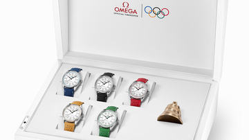 New Omega Seamaster Olympic Games