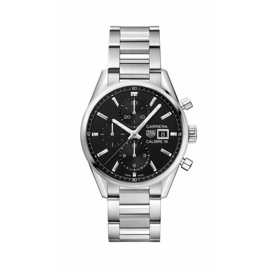 Horloge Tag Heuer Carrera CBK2110.BA0715 Calibre 16 Automatic Chronograph 41mm
