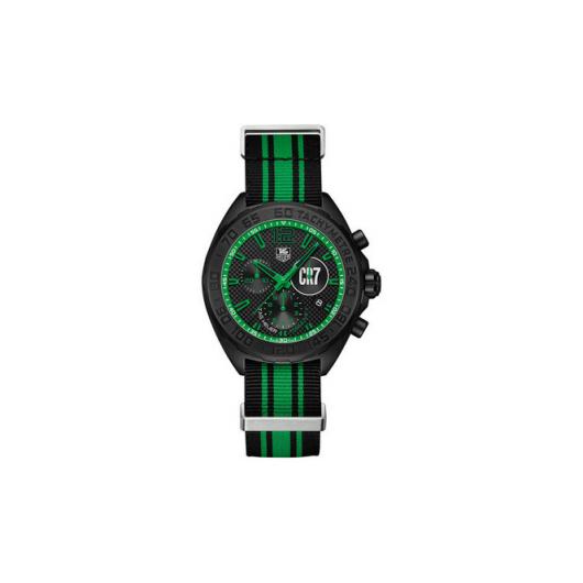 Horloge TAG HEUER FORMULA 1 CAZ1113.FC8189 42 MM Chronograph RONALDO SPECIAL EDITION