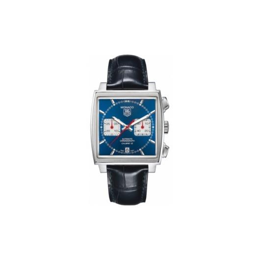 Horloge Tag Heuer MONACO CAW2111.FC6183 Calibre 12 Automatic Chronograph