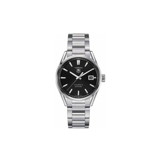 Horloge Tag Heuer Carrera WAR211A.BA0782 Calibre 5 Automatic Watch 39 mm