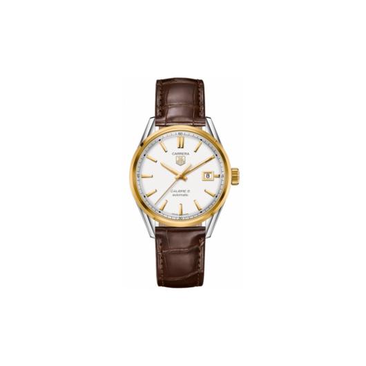 Horloge Tag Heuer Carrera WAR215B.FC6181 Calibre 5 Automatic Watch 39 mm