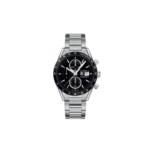 Horloge Tag Heuer Carrera CV201AJ.BA0727 Calibre 16 Automatic Chronograph 41MM