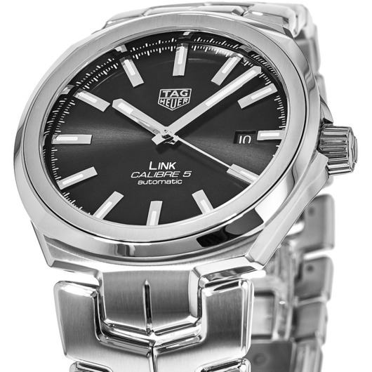 Horloge Tag Heuer Link Caliber 5 automatic 41mm WBC2110.BA0603