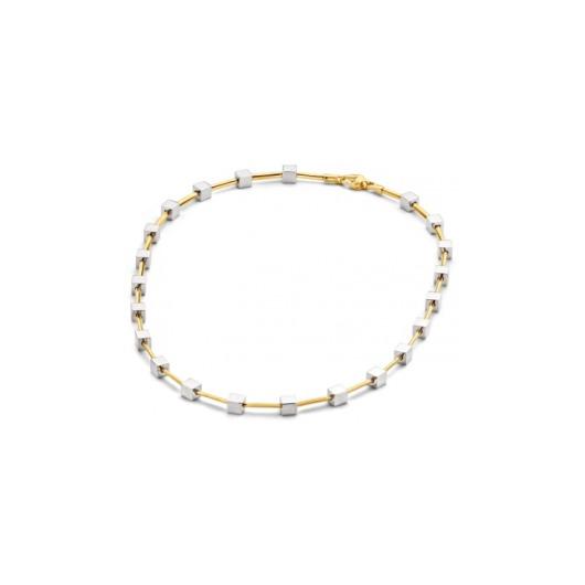 Juweel Collier bicolor goud 18k - 02