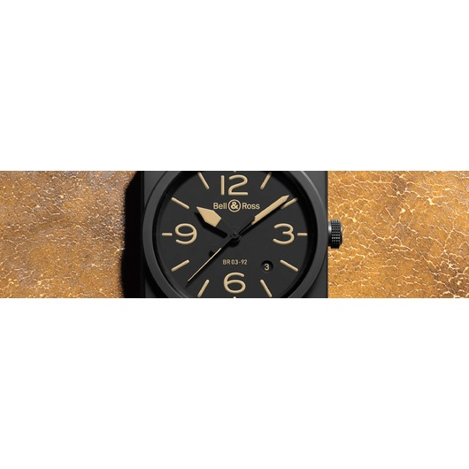 Horloge Bell & Ross BR 03-92 Heritage BR0392-HERITAGE-CE