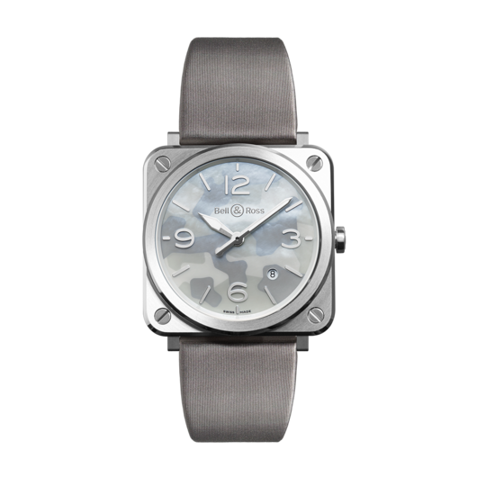 Horloge Bell & Ross BR S Grey Camouflage BRS-CAMO-ST