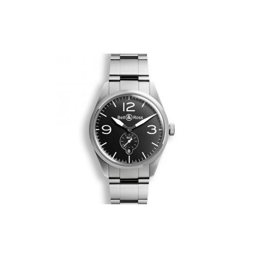 Horloge Bell & Ross BR 123 Orginal black BRV123-BL-ST/SCA