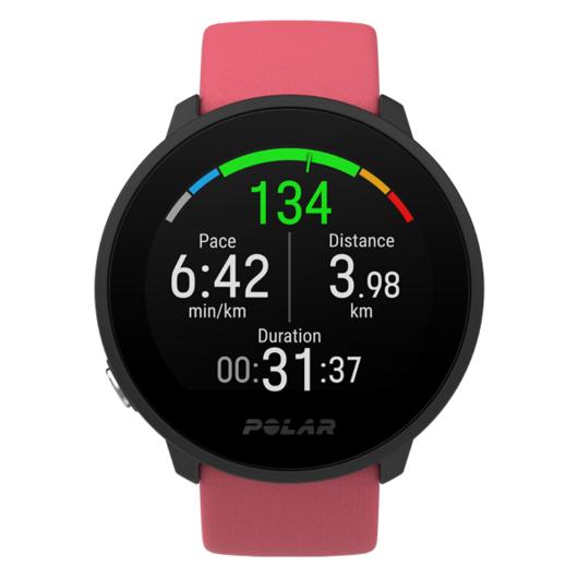 Horloge Polar Unite Pink Roze fitnesshorloge -- hartslagmeting