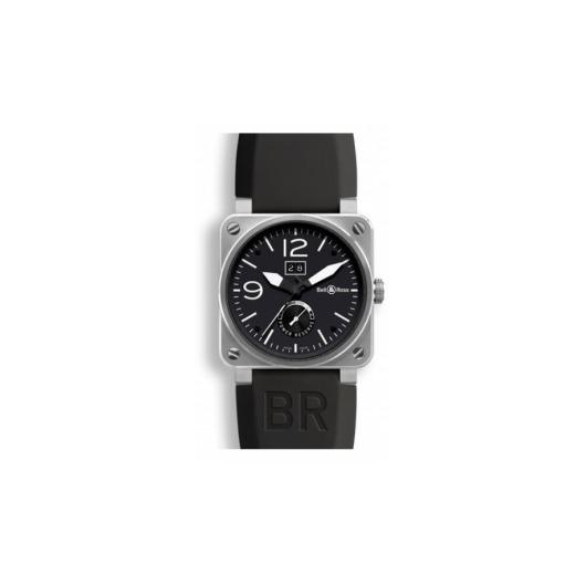 Horloge Bell & Ross BR 03-90 Grande Date & Reserve de Marche BR0390-BL-ST