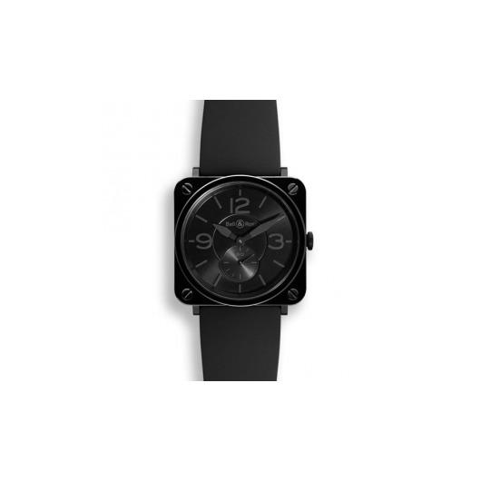 Horloge Bell & Ross BR S Black Ceramic Phantom BRS-BLC-PH/SBR