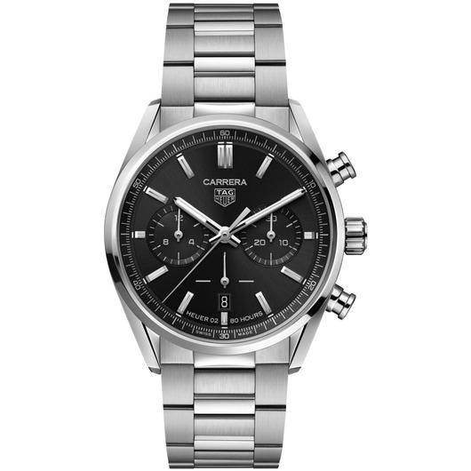 Horloge TAG HEUER CARRERA 42 AUTOMATIC CHRONOGRAPH CBN2010.BA0642