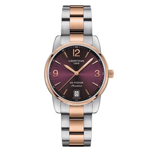 Horloge Certina DS PODIUM BICOlor RED DIAL C034.210.22.427.00