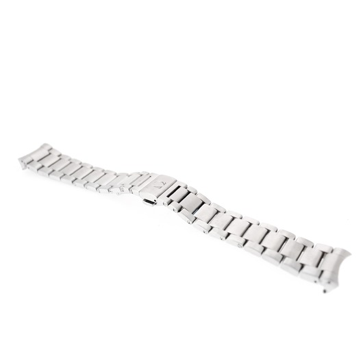 Horloge Omega Strap - Staal met Plooislot 22mm 020ST1585883 Model Seamaster Aqua Terra 150M GMT   'OTL'