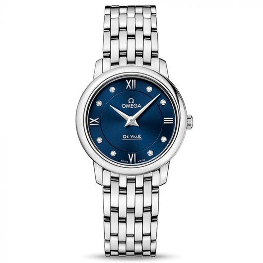 Horloge Omega De Ville Prestige Quartz 27.4 mm 424.10.27.60.53.001