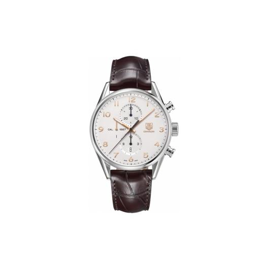 Horloge Tag Heuer Carrera Calibre 1887 automatic chronograph 43 mm CAR2012.FC6235