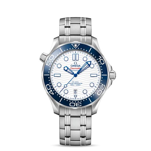 Horloge Omega Seamaster Diver 300M 42MM Co-Axial Master Chronometer Tokyo 2020 522.30.42.20.04.001