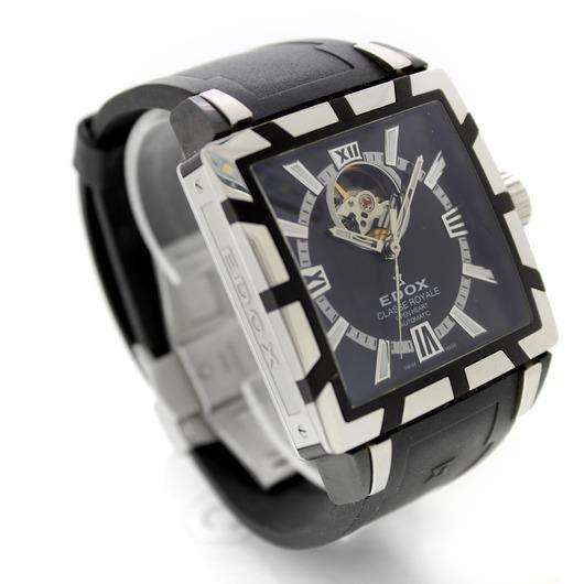 Horloge Edox Classe Royale Open Heart 85007 357N NIN '54237-424-TWDH'