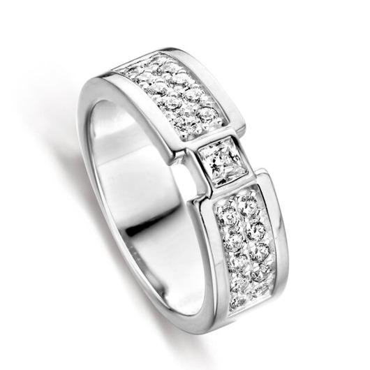 Juweel Silver Rose ring R2029W 'OTL'