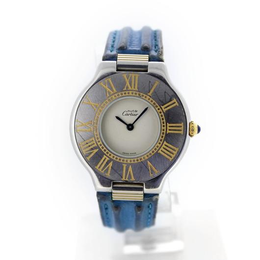 Horloge Cartier Must De 21 1330 '54373/436-TWDH'