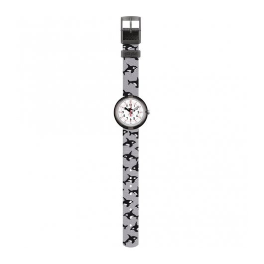 Horloge Flik Flak Orcasplash FPNP085