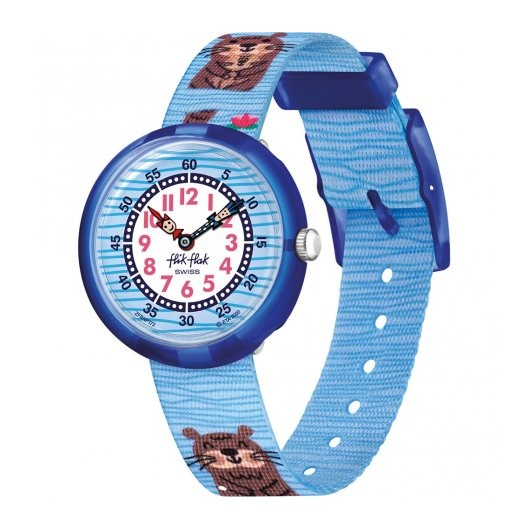 Horloge Flik Flak Like No Otter FBNP172