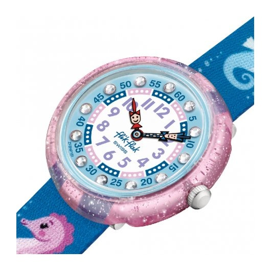Horloge Flik Flak Cavalluccio FBNP181