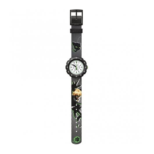 Horloge Flik Flak Miraculous Cat Noir FPSP058