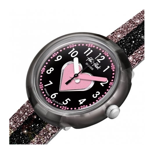 Horloge Flik Flak Cuoricino FPNP071