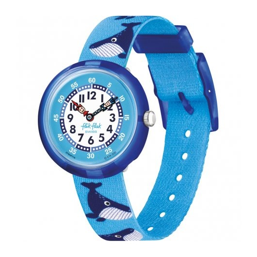 Horloge Flik Flak Whale Done FBNP176