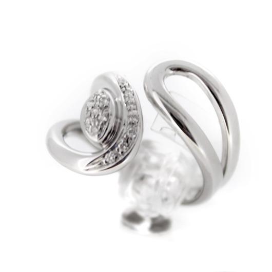 Juweel Ring Witgoud 18 karaat Briljant '56235-830-TWDH'