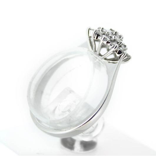Juweel Ring Witgoud 18 karaat Briljant '56303-832-TWDH'