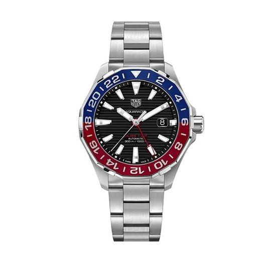 Horloge TAG HEUER AQUARACER GMT AUTOMATIC WAY201F.BA0927