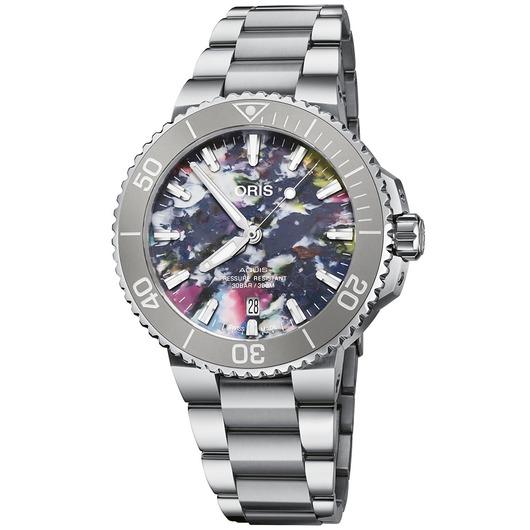 Horloge Oris Aquis Date 01733 7766 4150-SET
