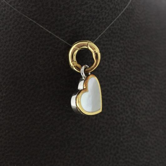 Juweel Tirisi Bedel Rosé goud hart Tirisi TM6124WM(2P) 'OTL'