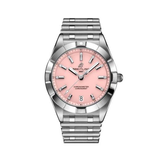 Horloge Breitling Chronomat 32 Pink A77310101K1A1