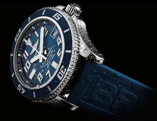 NIEUW - Breitling Superocean 42 - La vie en bleu