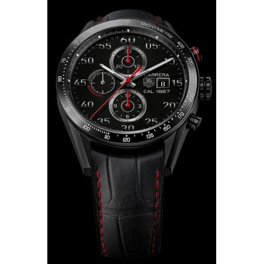 Horloge Tag Heuer Carrera Calibre 1887 Automatic Chronograph 43 MM CAR2A80.FC6237