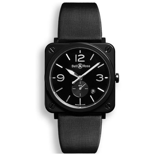 Horloge Bell & Ross BR S Black Ceramic BRS-BL-CES/SSA