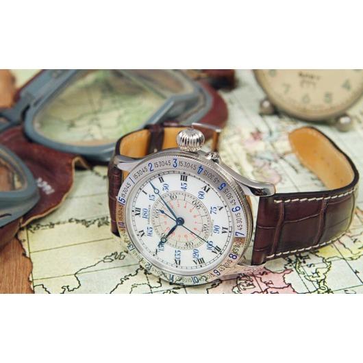 Horloge LONGINES Heritage L2.678.4.11.0 THE LINDBERGH HOUR ANGLE WATCH