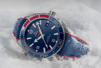 The Omega Seamaster Planet Ocean PyeongChang 2018 Limited Edition