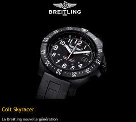 Colt Skyracer:  Breitling new generation!