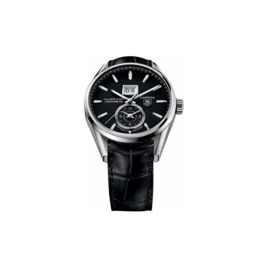 Horloge Tag Heuer Carrera WAR5010.FC6266 Calibre 8 GMT and Grande Date Automatic watch 41 mm