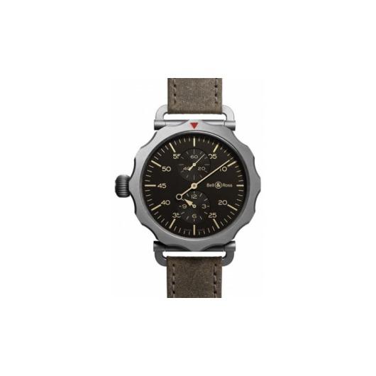 Horloge Bell & Ross WW2 Regulateur Heritage BRWW2-REG-HER/SCA